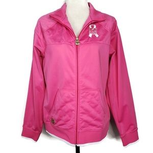 NFL Jacksonville Jaguars Rare Pink Reebok Jacket